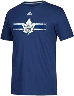 adidas Toronto Maple Leafs NHL Men's Blue Resurface Team Graphic Climalite Performance T-Shirt