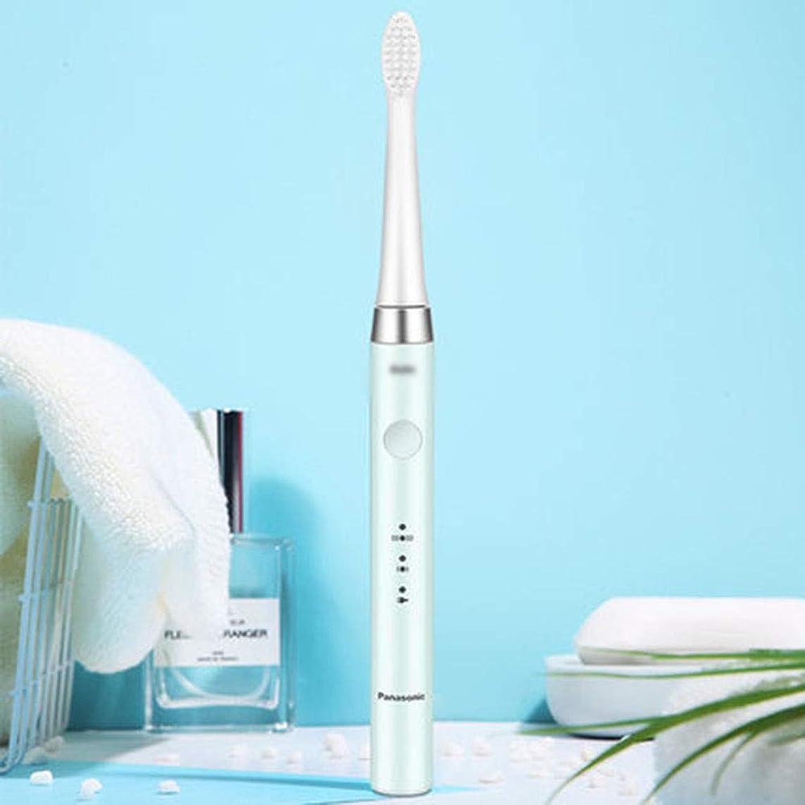 汚染された取る丈夫敏感な歯のクリーニングと歯茎のマッサージのための2分タイマー、2つのブラッシングモードを備えた充電式電動歯ブラシ,B