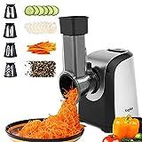 Professional Salad Maker, Electric Slicer Shredder/Electric Graters/Chopper (Silver)