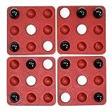 Kinder Desktop Spiel Pentago Spiel Magie Fünf Perlen Lernspielzeug Rotierendes Backgammon Rotierendes Fünf In Einer Reihe 3D Holzwürfel Denkaufgabe Puzzle Strategiespiel Für Familien -