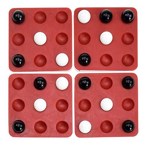 Kinder Desktop Spiel Pentago Spiel Magie Fünf Perlen Lernspielzeug Rotierendes Backgammon Rotierendes Fünf In Einer Reihe 3D Holzwürfel Denkaufgabe Puzzle Strategiespiel Für Familien