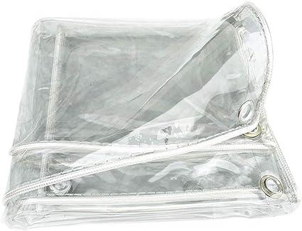 BAIYING Lona Alquitranada Transparente A Prueba De Polvo Funda Pérgola De Coche PVC Engrosado Cortina Impermeable, 11 Tallas Personalizable (Color : ...