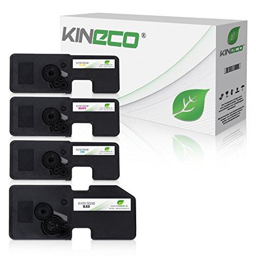 4 Kineco Toner kompatibel mit Kyocera TK-5240 für Kyocera Ecosys P5026cdw M-5526cdn M-5526cdw P-5026cdn