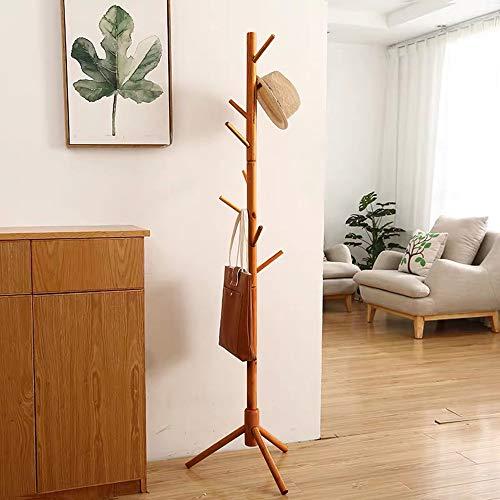 JIIKOOAI Perchero de pie en forma de árbol