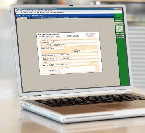Sigel SW235 WinBanking Professional, Software für Bankformular-Management, inkl. 60 Bankformulare – auch für SEPA - 2