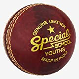 Readers - Balón de críquet para la Escuela, Unisex, Color Rojo