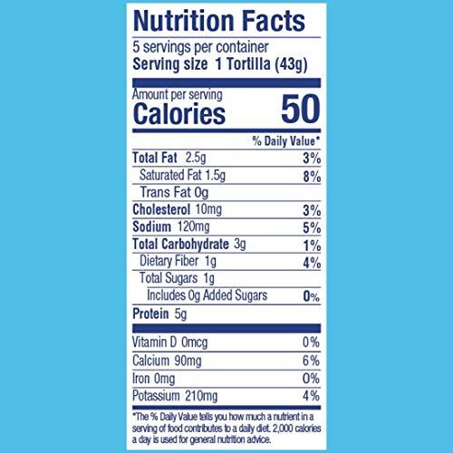 Product Image 2: Cali'flour Foods Tortillas (Original, 24 Count) – Keto Friendly, Low Carb, Gluten Free | Cauliflower Tortillas