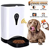 PAWPAL Automatic Pet Feeder with HD Camera and 4 Meals Programmable Timer and Voice Recording for Dog and Cat