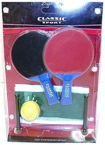 para mayoristas SPORTCRAFT SPORTCRAFT SPORTCRAFT TABLE TOP PING PONG GAME SET -RACKET IS 6(H) X APPROX 3 3 4 (W) by Sportcraft  auténtico