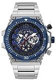 Guess watches exposure orologio Uomo Analogico Al quarzo con cinturino in Acciaio INOX GW0324G1