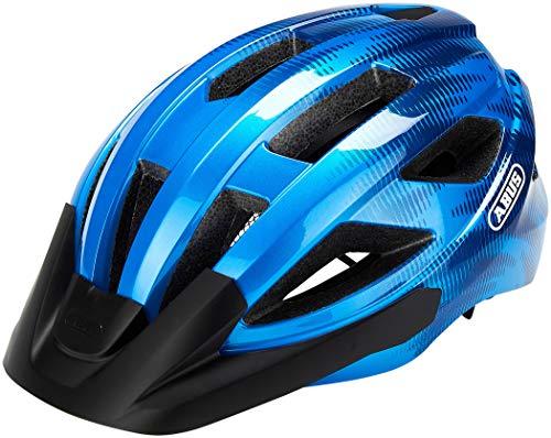 ABUS Unisex-Erwachsene MACATOR Fahrradhelm, steel blue, S