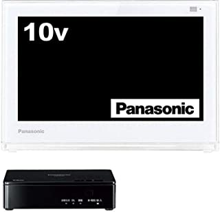 パナソニック 10V型 液晶 テレビ プライベート・ビエラ UN-10E6-W    2017年モデル