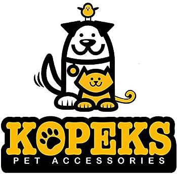 KOPEKS Sac à dos de voyage avec roues pour chiens, chats, animaux de compagnie – Noir