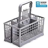 Panier à couverts pour lave-vaisselle - 24 x 14 x 24,5 cm - Comme Bosch Siemens 00093046 - Pour lave-vaisselle Bosch, Siemens, Neff, Constructa, Gaggenau, Hotpoint, Gorenje, Küppersbusch, Vorwerk