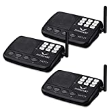 Hosmart 1/2 Mile Long Range 7-Channel Security Wireless Intercom System for Home or