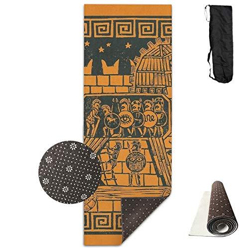 Generieke Trojaanse Paard Draagbare Vloer Om Verbetering Yoga 61cm*180cm Pilates Of Ballet Barre Oefening Niet Slip Multi Purpose Fitness Mat
