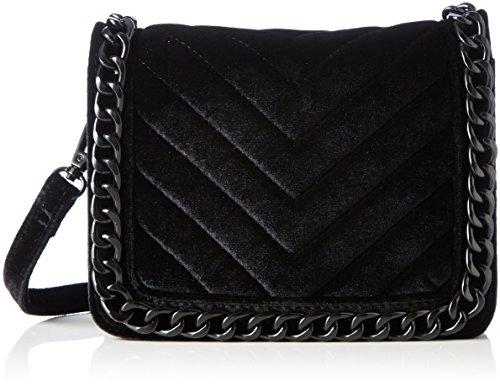 ALDO Calubura, Damen Umhängetasche, Black (Black Velvet), 8x15x20 cm (W x H L)