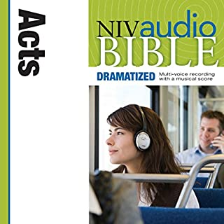 NIV Audio Bible, Dramatized: Acts cover art