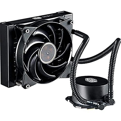 Cooler Master Dissipatore a Liquido MasterLiquid Lite 120 CPU - Pompa Dissipazione Doppia e Ventola Aria da 120 mm, Nero