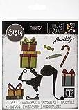 Sizzix Troquel Sizzix Thinlits Die Set 11 piezas - Ayudante de Papá Noel
