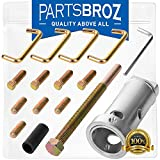fan blades blower - FBP100 Fan Blade and Blower Wheel Puller for HVAC Units by PartsBroz - Replaces Part Numbers 40852, AP3737541, MA-FB2, TB041, TB042, TJ90FBP100, TJMA-FB2, UP-1 & UP1