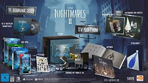 Little Nightmares II - Tv Edition - Collector's - Nintendo Switch