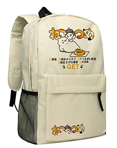 yoyoshome® Neko atsume Anime Katze Backyard Cosplay Daypack Rucksack Schultasche