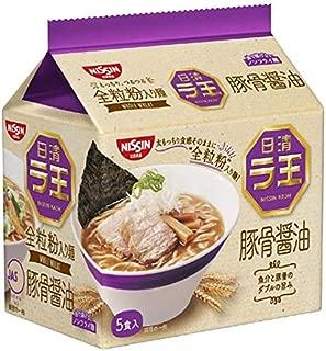 日清食品 日清ラ王 豚骨醤油 5食パック