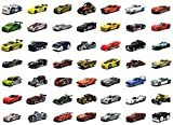 Hot wheels Basic Car Pack of 6 Die Cast Cars Assortment ( Colors and Designs Styles/Color May Vary C4982 )