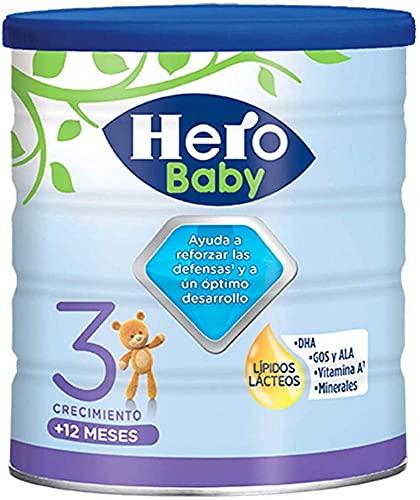 Hero Baby Leche 3 -Para niños a partir de 12 meses - 800 gr