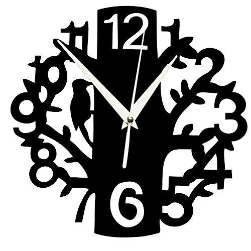 alxcio 10'silencioso no Tic Tac reloj de pared acrílico espejo moderno 3d Decor sin Marco de cuarzo reloj para salón o dormitorio oficina