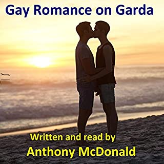 Gay Romance on Garda audiobook cover art