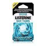 Listerine Go! Pastillas masticables - Neutralizan los olores y dejan una sensación limpia de boca (pack de 1 unidad)