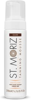 St Moriz Self Tan Range Instant Self Tanning Mousse Dark 6.76oz (200ml)