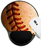 MSD Mousepad Wrist Rest Protected Mouse Pads, Mat with Wrist Support, Baseball 1 Image ID 230187