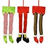 Gift Boutique Christmas Santa and Elf Legs...