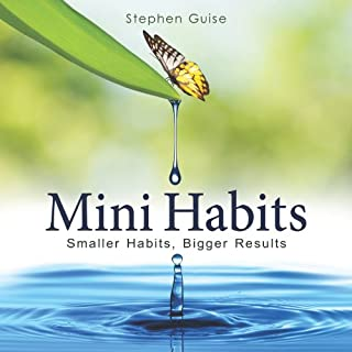 Mini Habits audiobook cover art