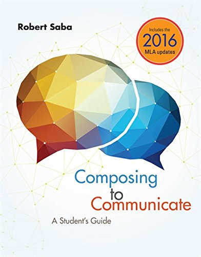 Price comparison product image Composing to Communicate: A Student's Guide
