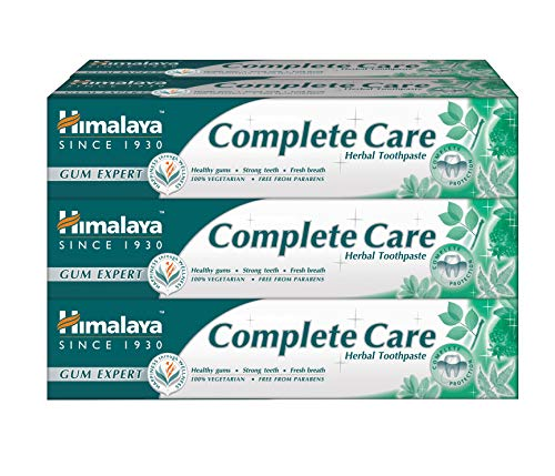 Himalaya Complete Care Natural Herbal Toothpaste,...