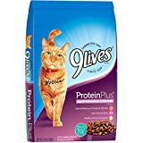 9 Lives Protein Plus Dry Cat Food, 12 Lb