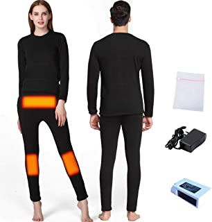 FERNIDA Insulated Heating Underwear Adjustable Charging Heated Pants(Battery Included)