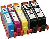 Pack genérico compatible con HP 364 X L, 5 cartuchos