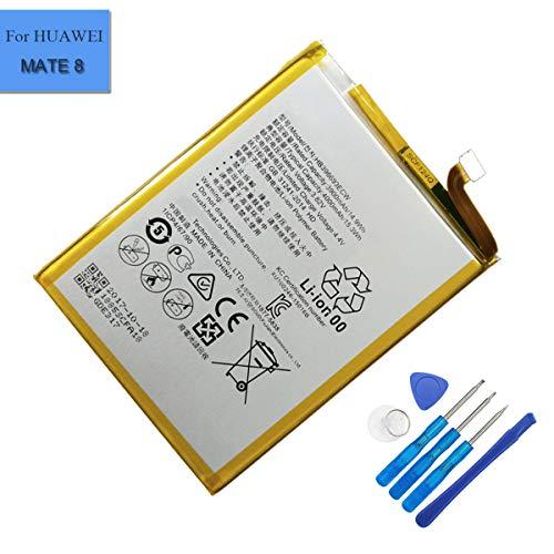 E-yiiviil Batería de reemplazo de iones de litio HB396693ECW Compatible para Huawei Ascend Mate 8 M200-UL00 Mate 8 Mate 8 Dual SIM TD-LTE NXT-AL10 NXT-CL00 con herramientas de instalación