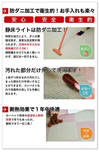 日東紡マテリアル『ホームカーペット静床ライト』