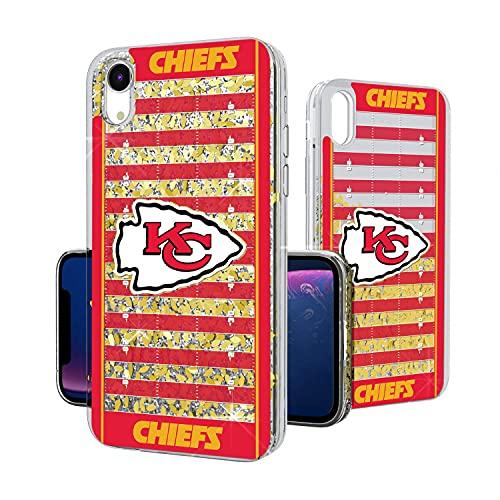 Strategic Printing Kansas City Chiefs iPhone Field Design Glitter Case