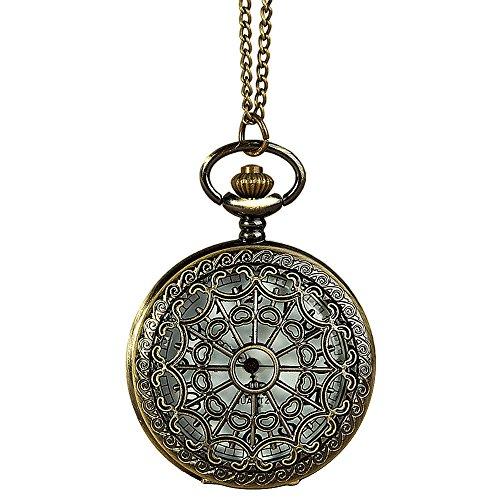 Longra Bolsillo de Cobre Amarillo del Estilo del Reloj de excursión Que acampa de navegación brújula de Llavero