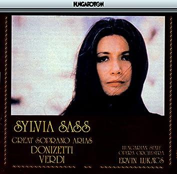Sass, Sylvia: Soprano Arias From Verdi and Donizetti
