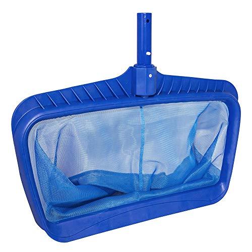Dragonaur Filet de piscine portable en maille fine en plastique robuste pour nettoyage de piscine, étang, spa