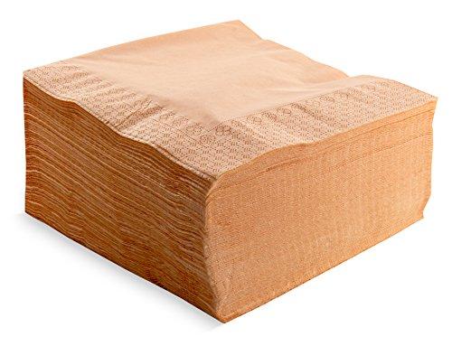 100/Tovaglioli piegati a 1//4 2/strati Lisa con bordo grigio Etain 2/strati tovagliolo 40/x 40 Saten ser42207311/Collection