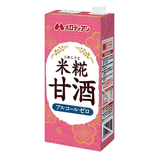 甘酒 (米糀甘酒, 1L×6本)